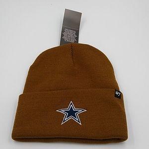 Carhartt Accessories - Dallas Cowboys '47 Carhartt Brown Knit Hat